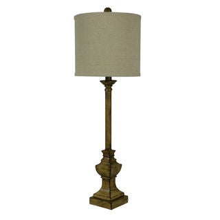 Forty West Woody Buffet Lamp 2 Piece