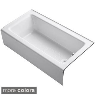 Kohler Bellwether 5-foot Right-hand Drain Cast Iron Soaking Bathtub