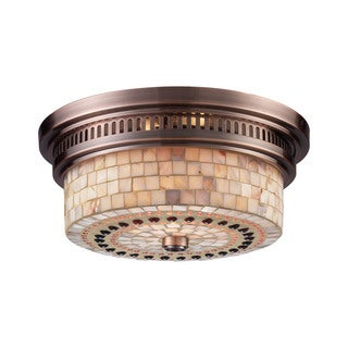 Chadwick Chadwick 2 Light Flush Mount 2-light Flush Mount Fixture