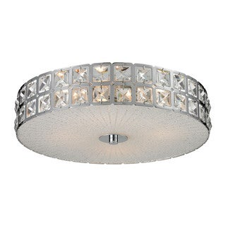 Wickham Wickham 4 Light Flush Mount 4-light Flush Mount Fixture