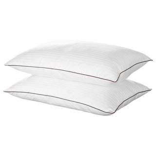 Chic Home Sleep Best II Egyptian Cotton Luxurious Down Alternative Pillows (Set of 2)