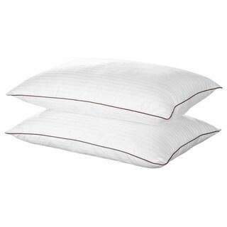 Chic Home Sleep Best II Egyptian Cotton Luxurious Down Alternative Pillows (Set of 2)