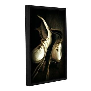 ArtWall Kevin Calkins ' Skate Away ' Gallery-Wrapped Floater-Framed Canvas