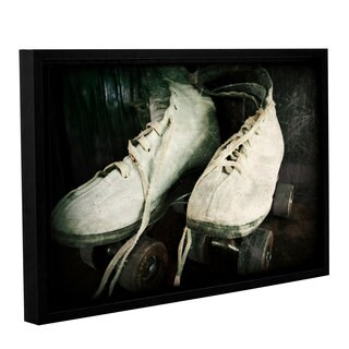 ArtWall Kevin Calkins ' Rustic Rollers ' Gallery-Wrapped Floater-Framed Canvas
