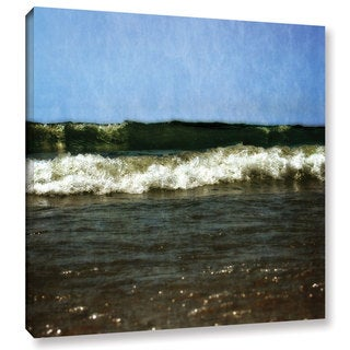 ArtWall Kevin Calkins ' Waves Crash  ' Gallery-Wrapped Canvas