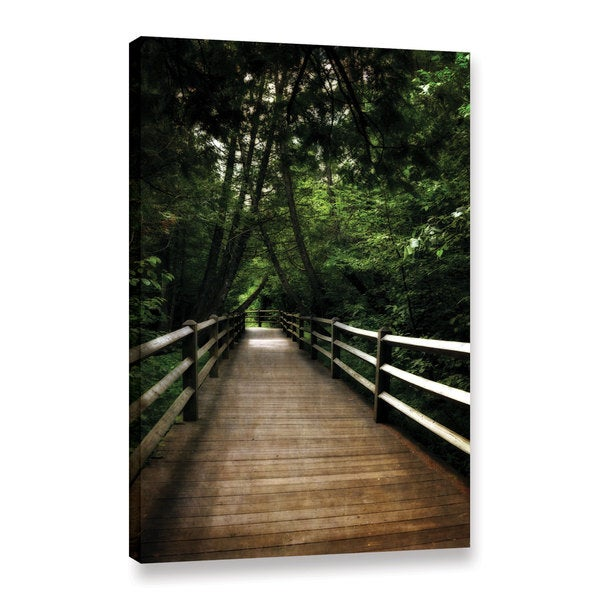 ArtWall Kevin Calkins ' Old Path ' Gallery-Wrapped Canvas - Multi
