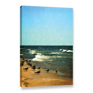 ArtWall Kevin Calkins ' Into The Wind ' Gallery-Wrapped Canvas