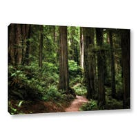 ArtWall Kevin Calkins ' Enchanted Path ' Gallery-Wrapped Canvas - multi