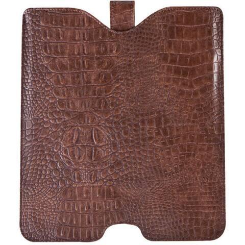 Goodhope Croc Leather Luxury Tablet E-reader Ipad Sleeve