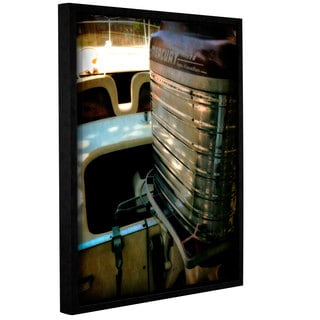 ArtWall Kevin Calkins ' Classic And Chrome ' Gallery-Wrapped Floater-Framed Canvas