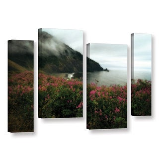 ArtWall Kevin Calkins ' August In Oregon 4 Piece ' Gallery-Wrapped Canvas Staggered Set