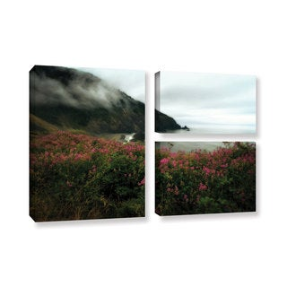 ArtWall Kevin Calkins ' August In Oregon 3 Piece ' Gallery-Wrapped Canvas Flag Set