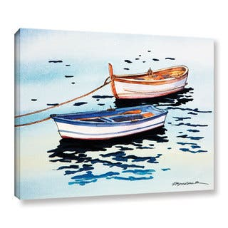 ArtWall Bill Drysdale ' Sage Vernazza Light ' Gallery-Wrapped Canvas