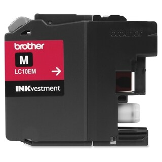 Brother Genuine LC10EM INKvestment Super High Yield Magenta Ink Cartr