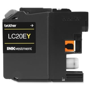 Brother LC-20EY Ink Cartridge - Yellow