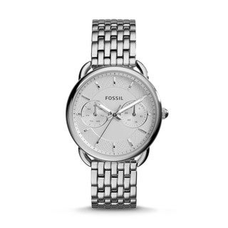 Fossil Woman's ES3712 Tailor Multifunction Stainless Steel Watch