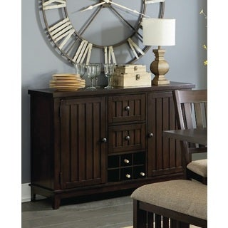 Kennedy Bruno Brown Wood Dining Server/ Buffet Table