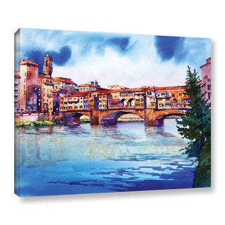 ArtWall Bill Drysdale ' Ponte Vecchio ' Gallery-Wrapped Canvas