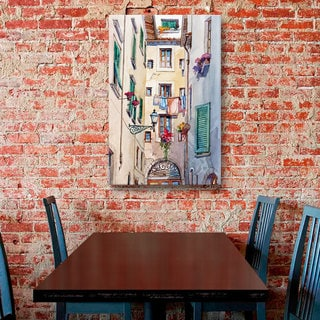 ArtWall Bill Drysdale ' Laundry Day ' Gallery-Wrapped Canvas