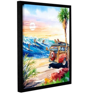 ArtWall Bill Drysdale ' Endless Summer ' Gallery-Wrapped Floater-Framed Canvas