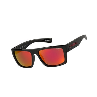 O'Neill Men's 'TUBE' Gloss Black Polarized Sunglasses