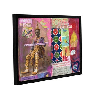 ArtWall Elena Ray ' Art Journal Love Is ' Gallery-Wrapped Floater-Framed Canvas