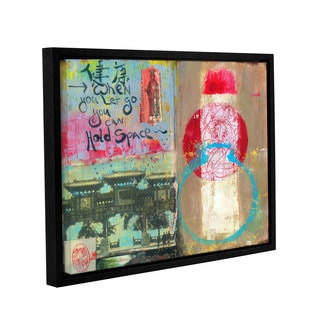ArtWall Elena Ray ' Art Journal Let Go ' Gallery-Wrapped Floater-Framed Canvas