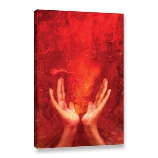 ArtWall Elena Ray ' Chakra Fire ' Gallery-Wrapped Canvas