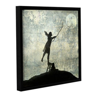 ArtWall Elena Ray ' Reach For The Moon ' Gallery-Wrapped Floater-Framed Canvas