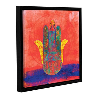 ArtWall Elena Ray ' Hand Of Fatima ' Gallery-Wrapped Floater-Framed Canvas