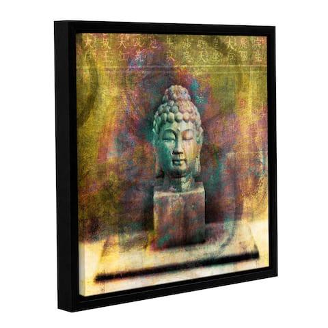 ArtWall Elena Ray ' Buddah ' Gallery-Wrapped Floater-Framed Canvas - Multi