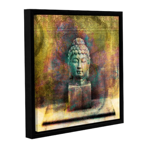 ArtWall Elena Ray ' Buddah ' Gallery-Wrapped Floater-Framed Canvas - Multi