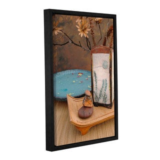 ArtWall Elena Ray ' Zen Still Life 2 ' Gallery-Wrapped Floater-Framed Canvas