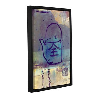 ArtWall Elena Ray ' Good Tea ' Gallery-Wrapped Floater-Framed Canvas