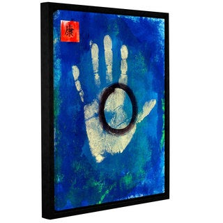 ArtWall Elana Ray ' Health Hand ' Gallery-Wrapped Floater-Framed Canvas