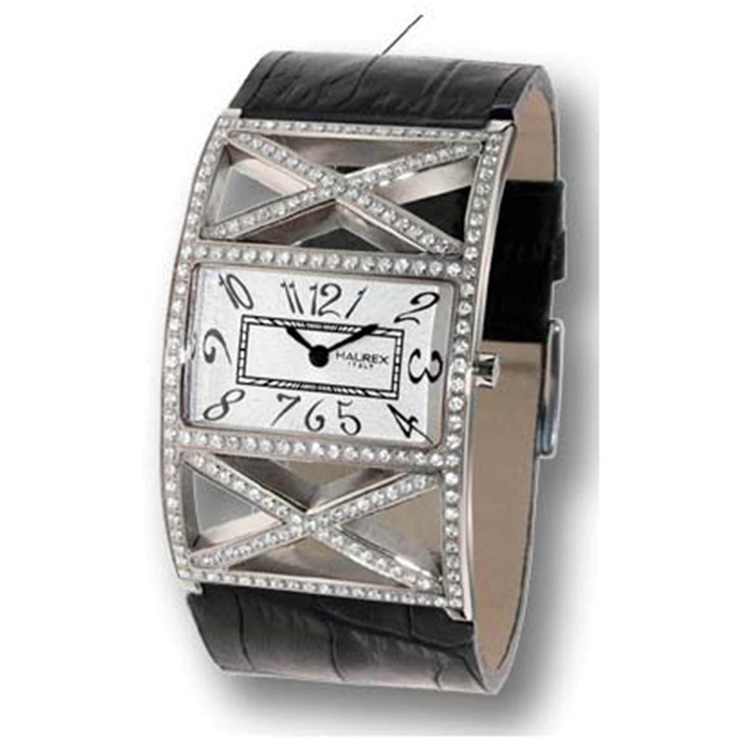 Haurex Italy Womens Cage Silver Watch (Silver), Size One ...
