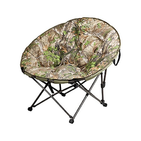 Hunter Papason CamoLounger Realtree Xtra Green Camping Ch...
