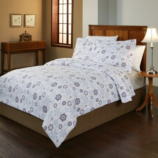 Pointehaven 200 GSM Superior Flannel Snowflake Duvet Set|https://ak1.ostkcdn.com/images/products/10234231/P16735248.jpg?impolicy=medium
