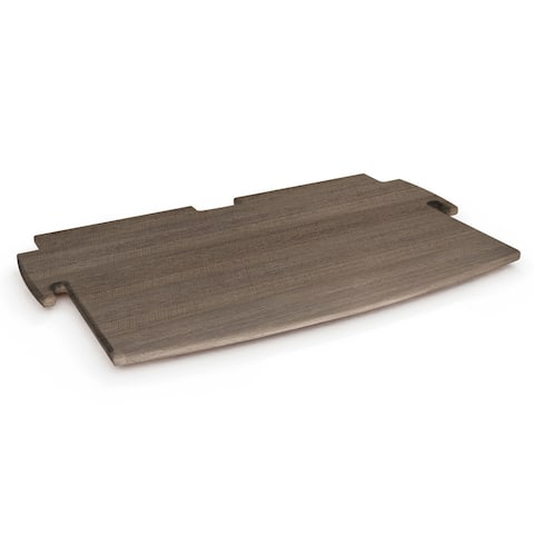 "Grey Driftwood 12-inch Spare Shelf - 1""h x 12""d x 12""l"