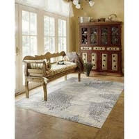 Rug Squared Stanford Champagne Rug (9'6 x 13')