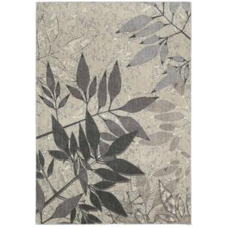 Rug Squared Stanford Silver Rug (3'6 x 5'6)