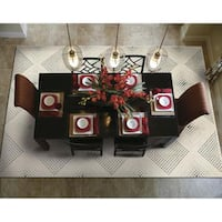 Rug Squared Stanford Champagne Rug - 9'6 x 13'
