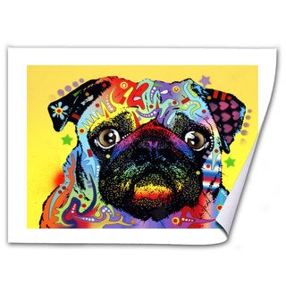 Dean Russo 'Pug' Rolled Paper Art