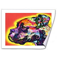 Dean Russo 'Profile Boxer' Rolled Paper Art