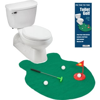 Toilet Golf Joke and Novelty Set