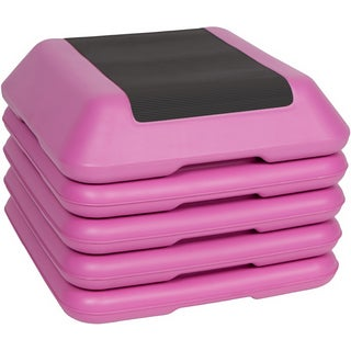 Pink High Step Work Out Training Device (Set of 4 Risers)