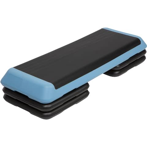 Blue High Step Work Out Training Device (Set of 4 Risers )