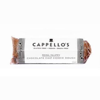 Cappello's Vegan Gluten- and Grain-free Chocolate Chip Cookie Dough Rolls (Pack of 3)