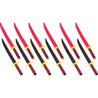 Trademark Innovations Foam Ninja Swords Safe and Fun (Set of 12)