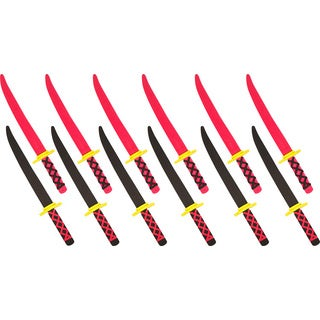 Trademark Innovations Foam Ninja Swords Safe and Fun (Set of 6)